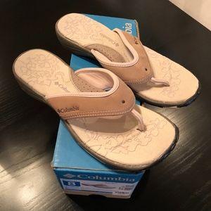 Columbia Women's Kambi Flip Flop Sandals, sz 8 NIB